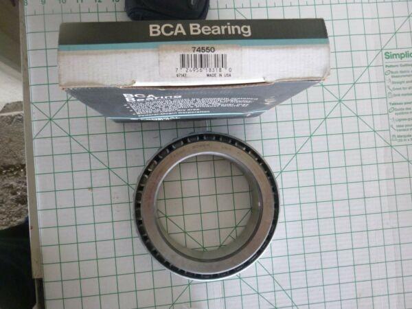 New BCA Bearing 74550 Tapered Single Cone Roller Bearing /Bower