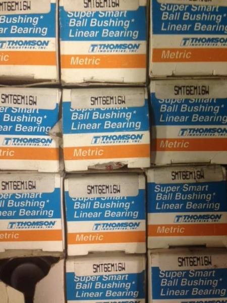 Thomson Ball Bushing Linear Bearing - SMT6EM16W QTY 4