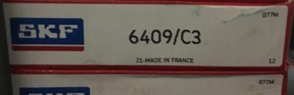 6409-C3 SKF Bearing 45x120x29(mm)