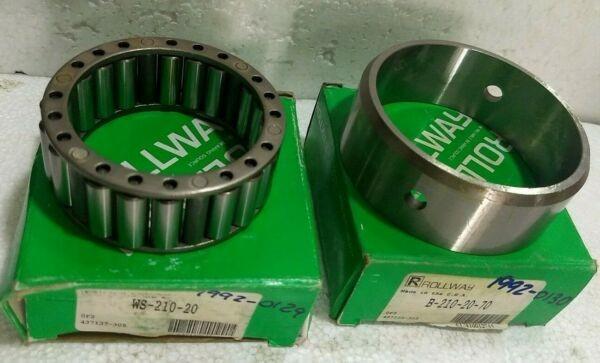 Rollway B210-20-70 & WS210-20 USA - Bearing Set