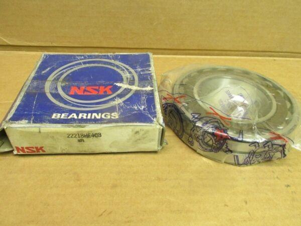 NSK 22218HE4C3 SPHERICAL ROLLER BEARING 22218 HE4 C3 90x160x40 mm JAPAN