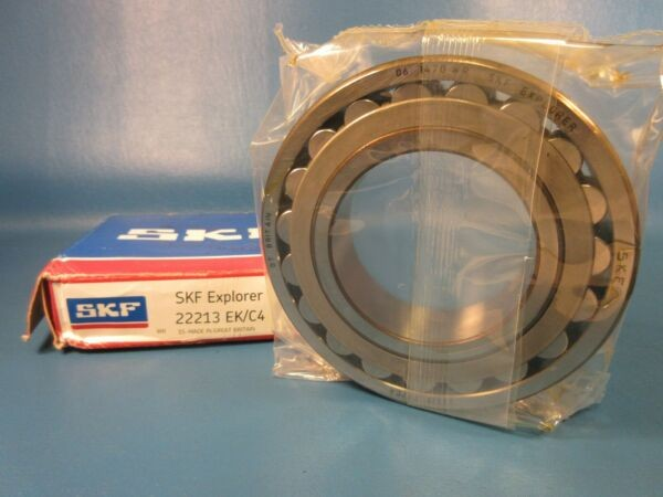 SKF 22213 EK/C4 Single Row Radial Bearing (McGill, Torrington, NTN, NSK, FAG)