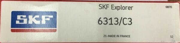 6313 C3 SKF Radial Ball Bearing, 313-K, 313-S, 3313 NDH
