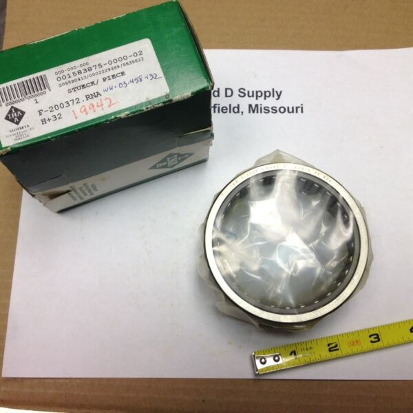 INA NEEDLE ROLLER BEARING, F-200372.RNA, H+32, New-Old-Stock