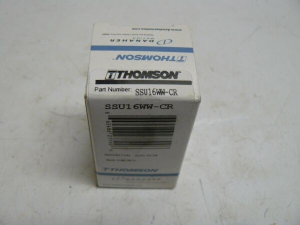 THOMSON SSU16WW-CR SUPER SMART BALL BUSHING BEARING NEW