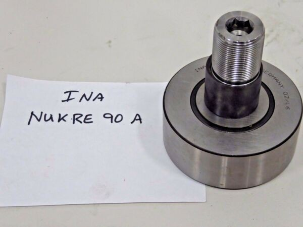 INA NUKRE90A Stud Type Track Roller Bearing