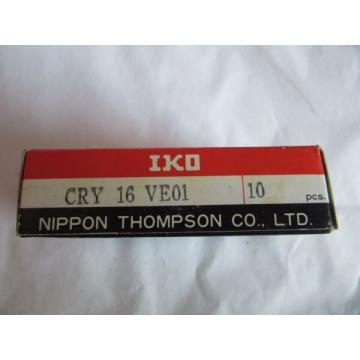 (10) IKO Nippon CRY 16 VE01 Cam Rollers CRY16VE01 NEW!! Sealed Box Free Shipping