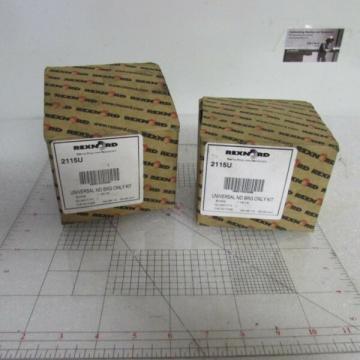 Rexnord 2115U RND Universal ND BRG Roller Bearing Kit Bore 1 15/16-Self Aligning