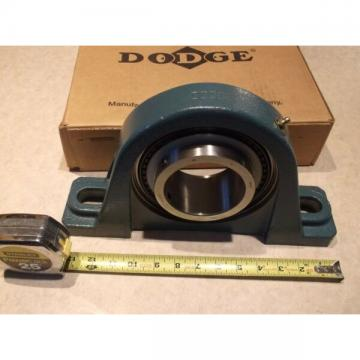 "DODGE 076139 P2B-SCMED-207 3-7/16"" PILLOW BLOCK BEARING (NEW IN BOX)"