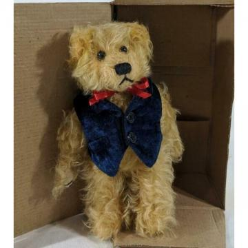 "New ListingLM Mary Meyer Lil Colby 8"" Mohair Collection Jointed Classic Teddy Bear Plush NW"