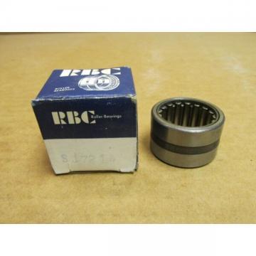 """NIB RBC SJ7214 NEEDLE ROLLER BEARING SJ 7214 1-1/8"""" ID x 1-5/8"""" OD x 1"""" W USA"""