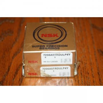 New NSK 7206 A5TRDULP4Y Super Precision Bearings 7206A5TRDULP4Y