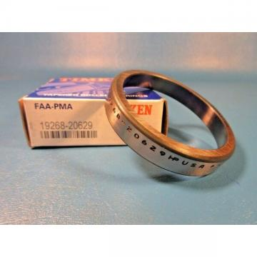 Timken 19268-20629 FAA-PMA Tapered Roller Bearing Single Cup, Made in USA