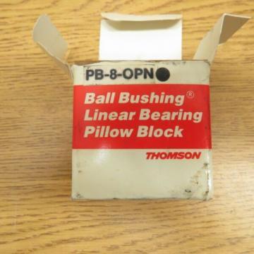 NEW Thomson PB8A / PB-8-A Linear Bearing