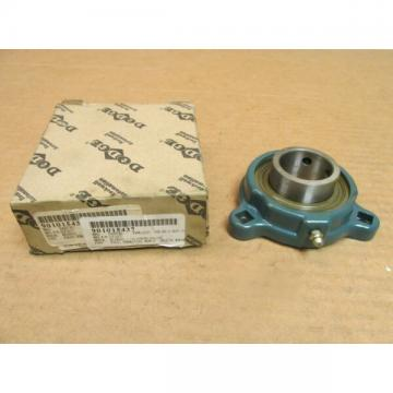 "NIB DODGE LF-SC-107 3 BOLT FLANGE BEARING UNIT LFSC107 SC 1-7/16"" ID USA"