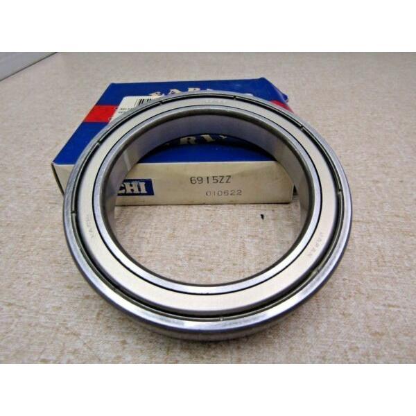 Nachi 6915 ZZ 75X105X16 mm Deep Groove Thin Bearing Metal Shields #1 image