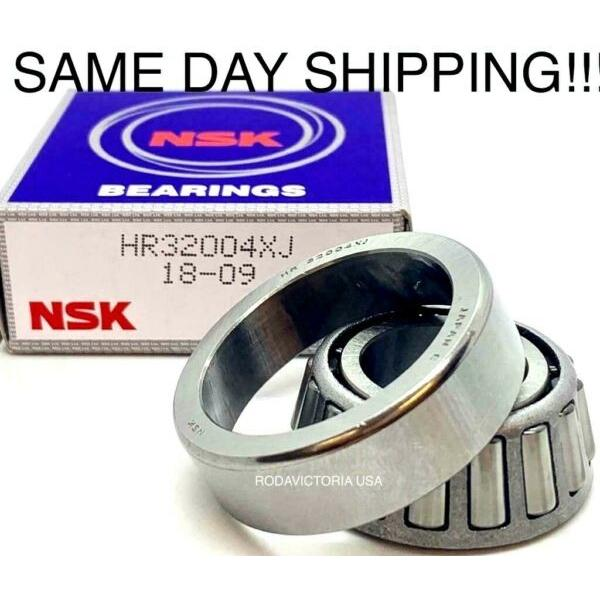 New ListingNSK HR32004XJ Tapered Roller Bearings 20x42x15mm SAME DAY SHIPPING !!! #1 image