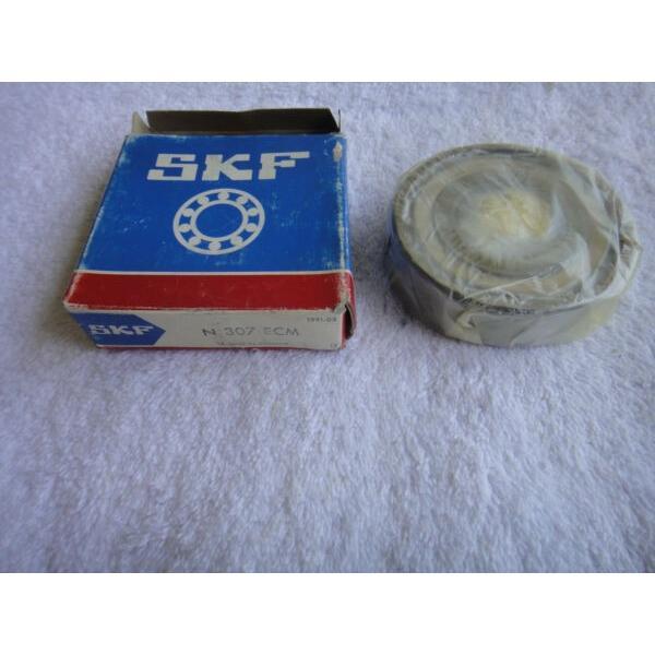 NIB SKF  Bearing  N 307 ECM      N307ECM #1 image